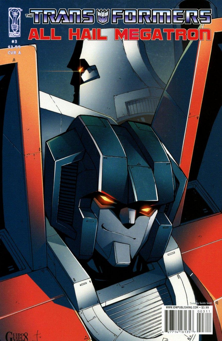 Комиксы Онлайн - Трансформеры: Да здравствует Мегатрон - # 3 - Страница №1 - Transformers: All Hail Megatron - # 3