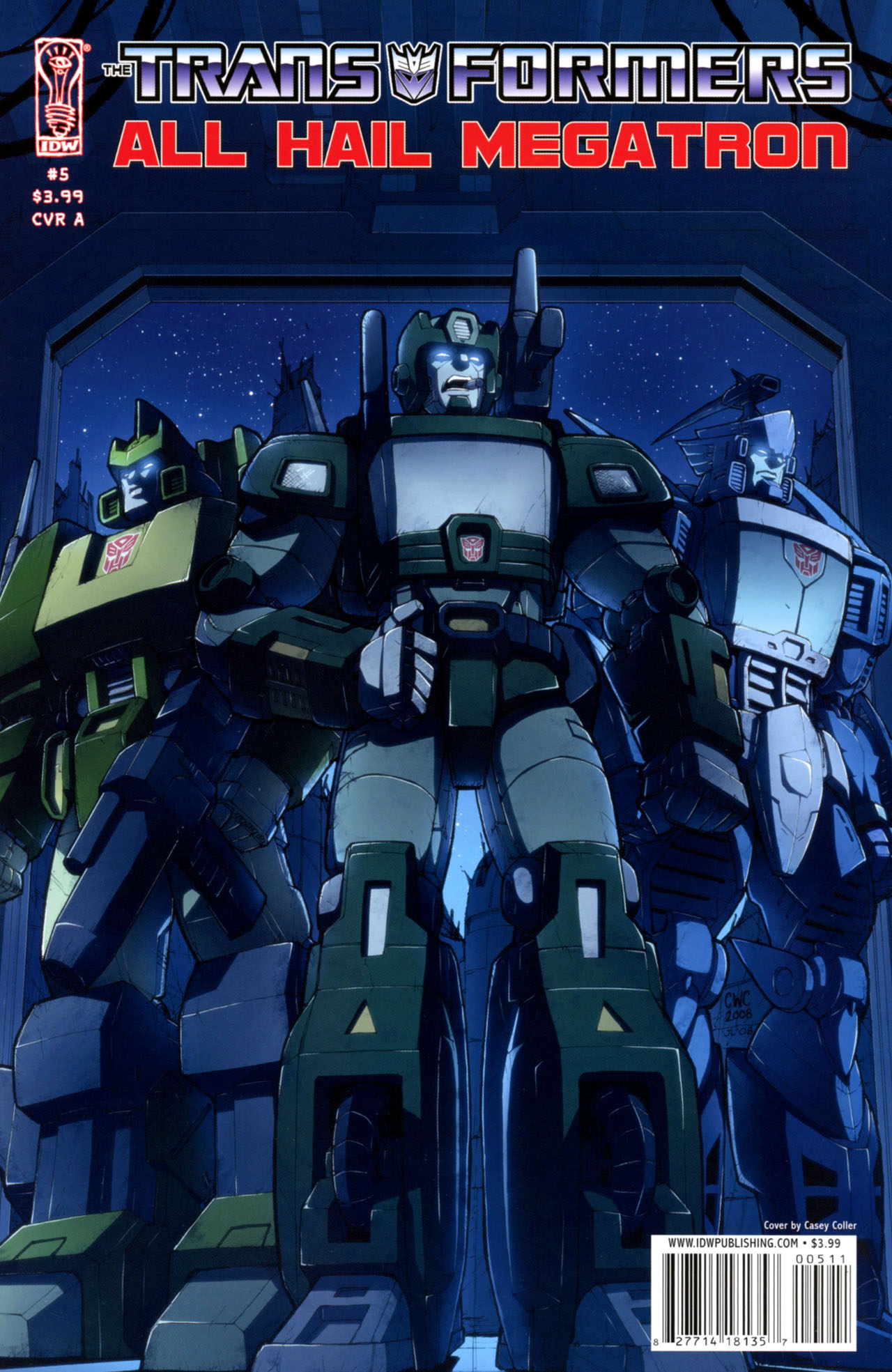 Комиксы Онлайн - Трансформеры: Да здравствует Мегатрон - # 5 - Страница №1 - Transformers: All Hail Megatron - # 5